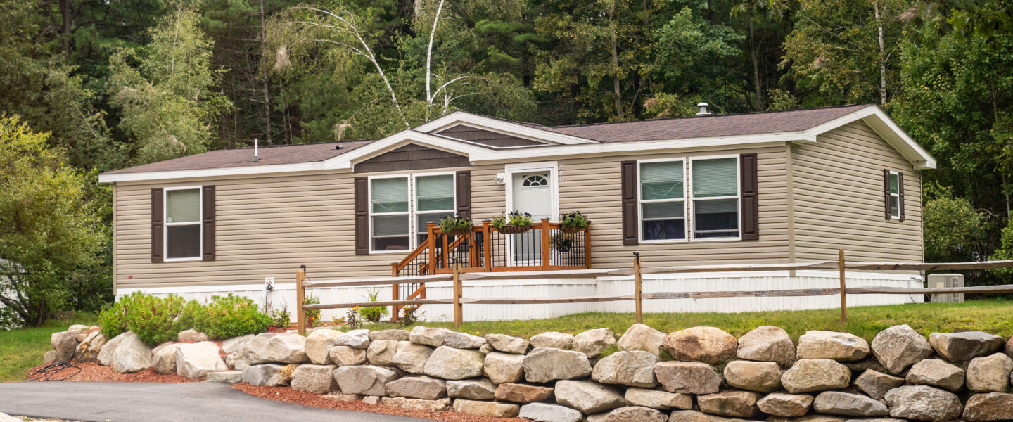 Modern manufactured home